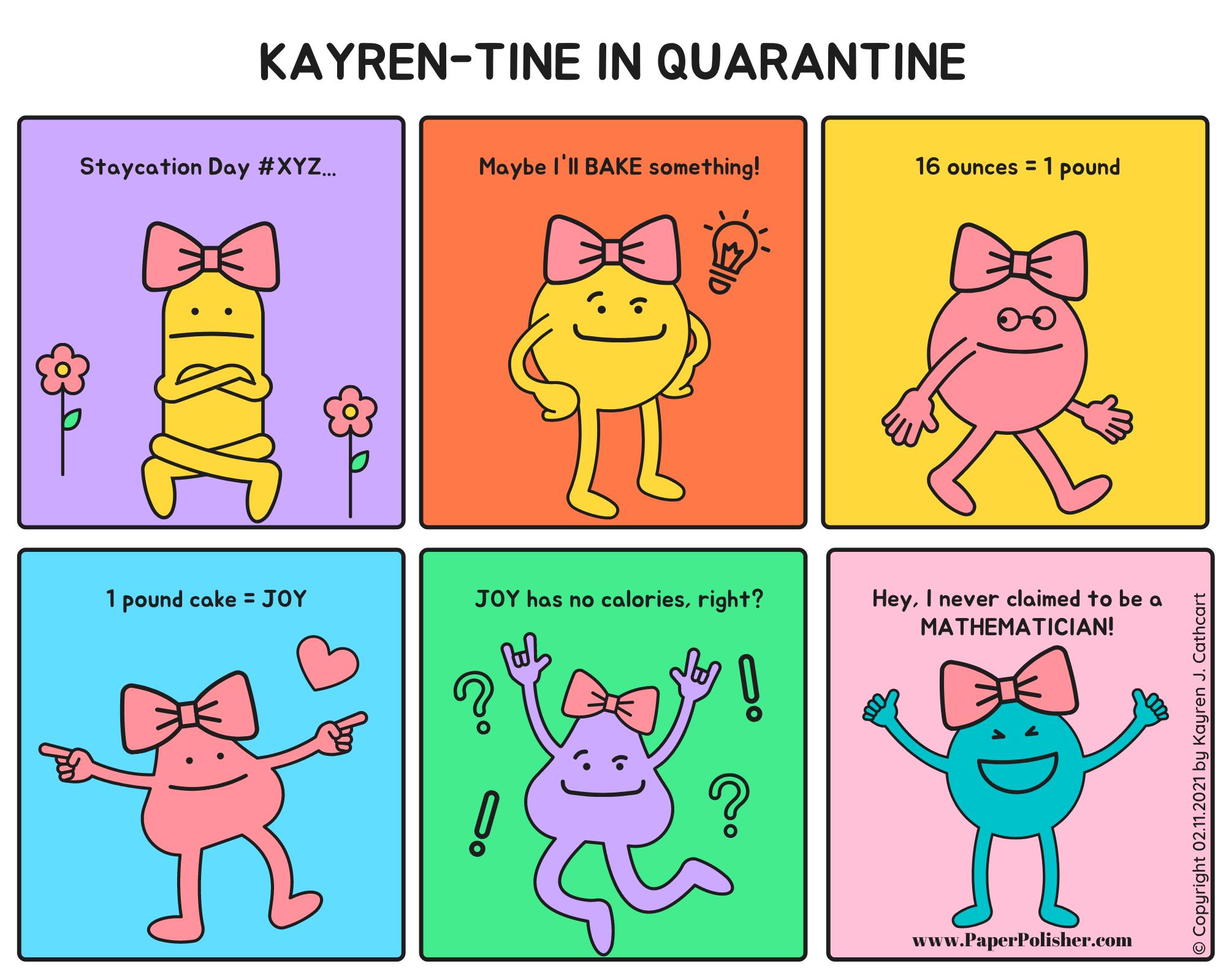 Kayren-Tine Comic Strip 02.11.2021