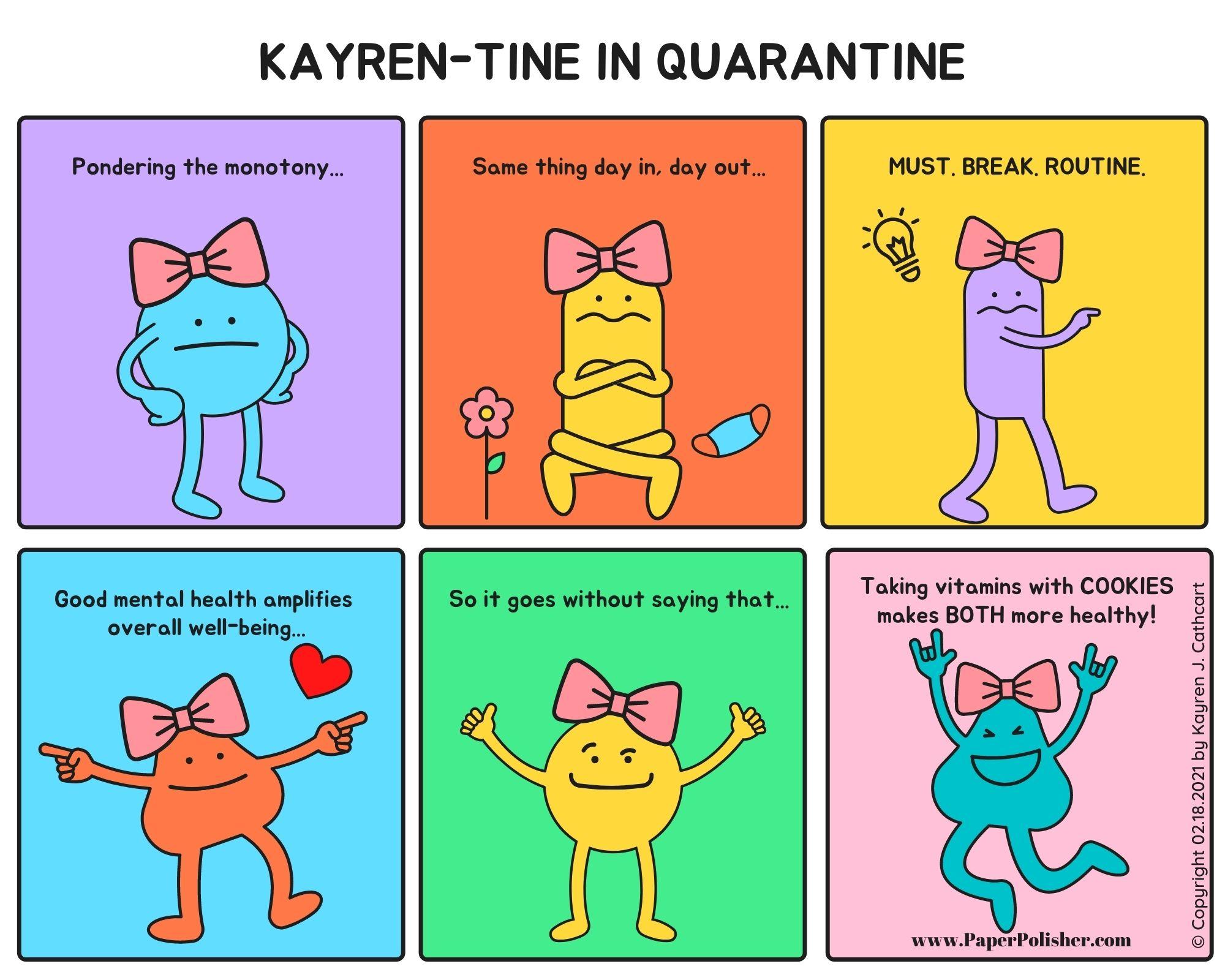 Kayren-Tine Comic Strip 02.18.2021