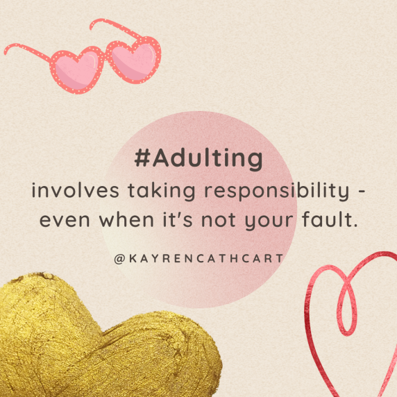 Adulting & responsibility Wed. 9-22